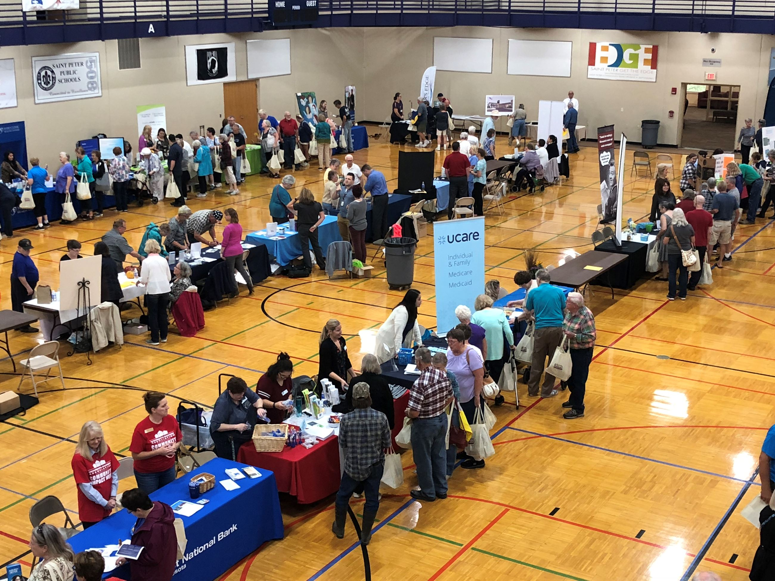 Senior Expo brings a big crowd every year!