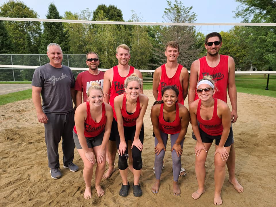 Sand 2nd place
