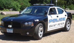 Squad Car of the Police Department