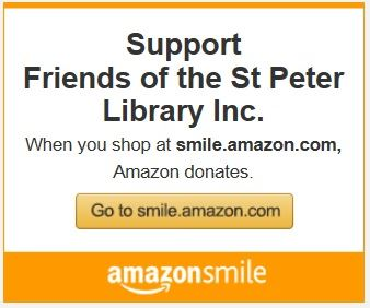 Shop at Amazon Smile to Support the Friends of the Library Opens in new window